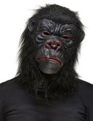 Affe Maske Gorilla schwarz
