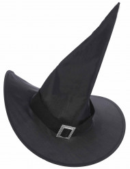 Hexen-Hut Halloweenkostüm-Accessoire schwarz-gold