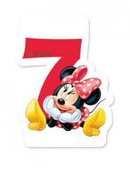 Minnie Maus™ Kerze Zahl 7 Lizenzware