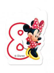 Minnie Maus™ Kerze Zahl 8 Lizenzware