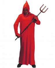 Roter Satan Halloween-Kostüm Teufel rot-schwarz