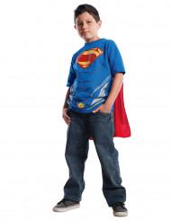 Superman™ T-Shirt mit Umhang für Kinder Lizenzware