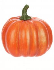 Klassischer Kürbis Halloween Party-Deko orange 14cm