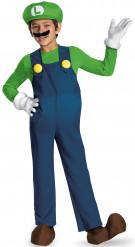Luigi™-Kinderkostüm Videospiel-Kostüm Lizenzartikel blau-grün
