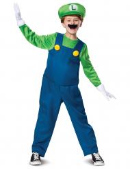 Luigi™ Kinderkostüm Computerspiel-Verkleidung grün-blau