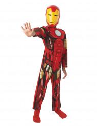 Avengers Iron Man Overall Kinderkostüm Lizenzware rot-gold