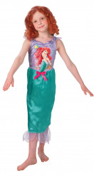 Arielle Disney Kinderkostüm Meerjungfrau Lizenzware flieder-grün