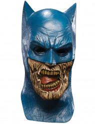 Untoter Batman Halloween-Maske Lizenzartikel Blackest Night blau-haut