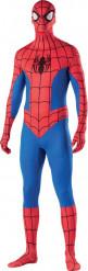 Spider-Man Second Skin Kostüm Lizenzware blau-rot-weiss