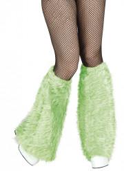 Schlag-Stulpen Disco Kostümzubehör grün