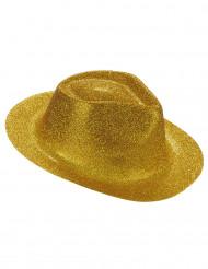 Glitzer Party-Hut gold