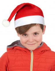 Weihnachtsmütze für Kinder rot-weiss