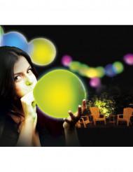 Illooms LED-Luftballons Party-Deko 5er-Set gemischt bunt 23cm