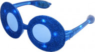Brille Disco in Blau