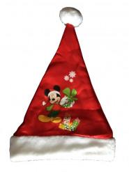 Weihnachtsmann Mütze Disney Mickey für Kinder