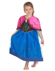 Edles Anna Kostüm für Mädchen Die Eiskönigin blau-pink