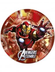 Party Pappteller Lizenzartikel Avengers bunt 23cm