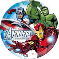 Teller Avengers Lizenzartikel bunt 23cm