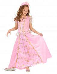 Prinzessinnen Kostüm für Mädchen rosa-gold