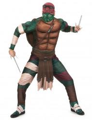 Raphael-Erwachsenenkostüm Ninja Turtles mehrfarbig