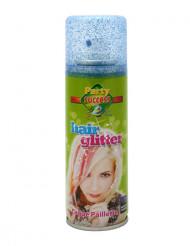 Haarspray mit Pailletten blau, 125 ml