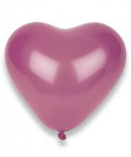 Herz Luftballons Party Zubehör 100 Stück rosa