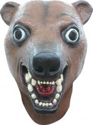 Lustige Maske Bär für Erwachsene braun