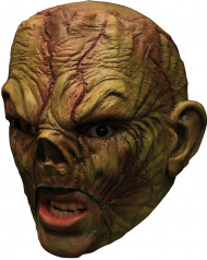 Moorzombie 3/4 Latex-Maske grün