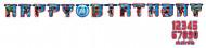Geburtstags Girlande Happy Birthday Lizenzartikel Avengers bunt 1,6m