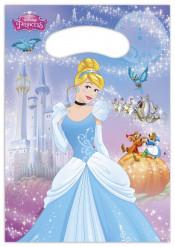 Disney™ Cinderella™ Geschenktüten Kindergeburtstag Lizenzware 6 Stück 16x22cm