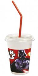 Star Wars Milchshake Becher Party-Deko 12 Stück bunt 300ml