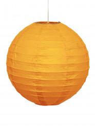 Partylaterne Lampion orange 25cm