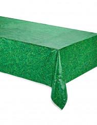 Tischdecke Gras-Optik Partydeko grün 2,74x1,37m