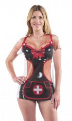 Sexy Krankenschwester Damen-Shirt