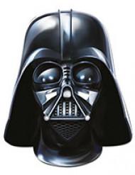 Star Wars Pappmaske Partymaske Darth Vader Lizenzware schwarz