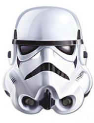 Offizielle Stormtrooper™ - Star Wars™ Erwachsenenmaske weiß/schwarz