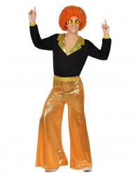 Disco-Kostüm für Männer orange