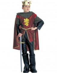 Kreuzritter Kinderkostüm Mittelalter rot-grau-gold