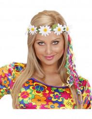 Hippie Blumenkranz bunt
