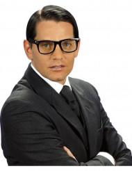 Streber-Brille Funbrille schwarz