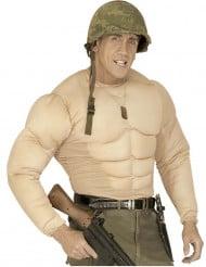 Muskel Body Muskelanzug hautfarbe