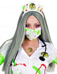 Verseuchter Zombie Halloween Latexapplikationen mit Kleber haut-rot-grün