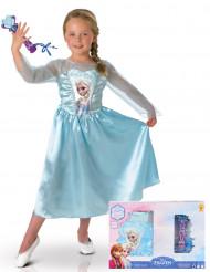 Prinzessin Elsa Kinderkostüm Frozen™-Filmkostüm blau