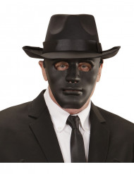 Phantom Karneval-Maske Anonymous schwarz