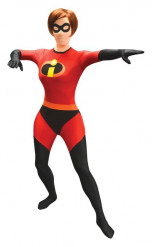 The Incredibles Mrs Incredible Morphsuit Lizenzware rot-schwarz