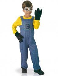 Minions Lizenz-Kostüm für Kinder gelb-blau-schwarz