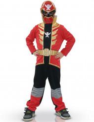 Power Rangers Super Megaforce Kinderkostüm Lizenzware rot-gold