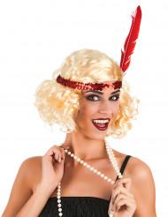 Charleston Locken-Perücke für Damen blond