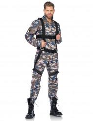 Fallschirmjäger Soldat Kostüm camouflage