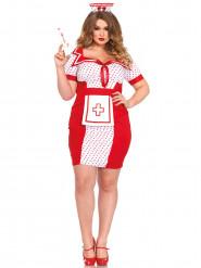 Sexy Krankenschwestern-Damenkostüm